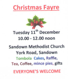 Christmas Fayre - Sandown